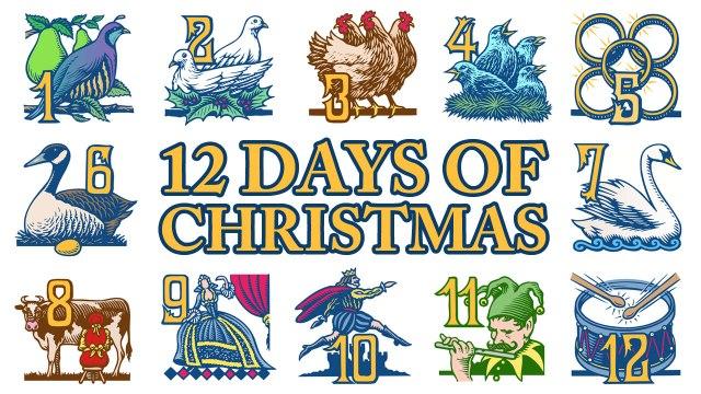 12DaysofCristmas