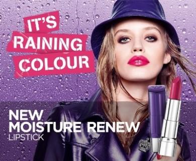 The Rimmel London Moisture Renew Lipstick  Review